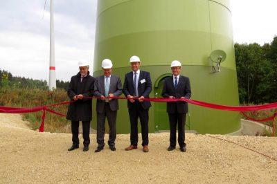 Windpark Brandberg im Ostalbkreis feierlich eröffnet