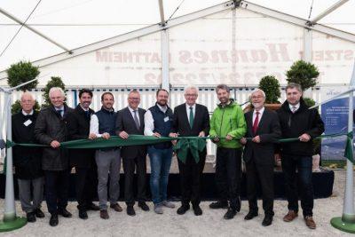 Ministerpräsident Kretschmann eröffnet Windpark Ellwanger Berge (19. Mai 2017)